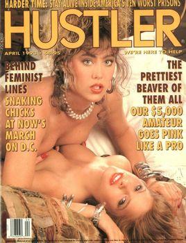 Hustler USA - April 1993