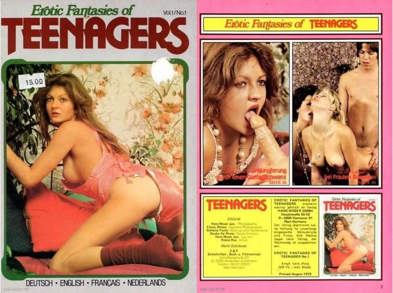 Erotic Fantasies Of Teenagers V1 N1 (1979)