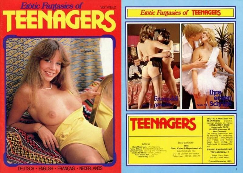 Erotic Fantasies Of Teenagers V1 N2 (1979)