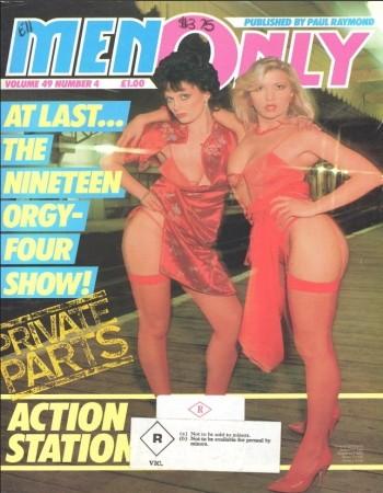 Men Only - Volume 49 Number 04 1984