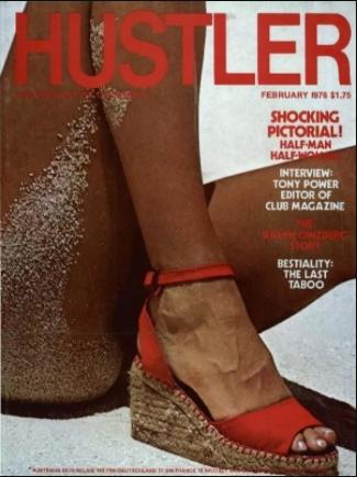 Hustler USA - February 1976