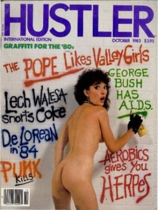 Hustler USA - October 1983