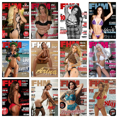 FHM USA – 2020 Full Year Issues Collection
