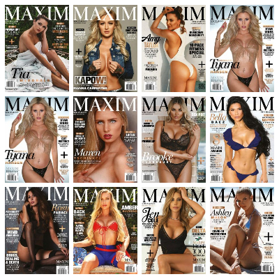 Maxim New Zealand – 2020 Full Year Issues Collection