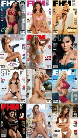 FHM South Africa – 2020 Full Year Issues Collection