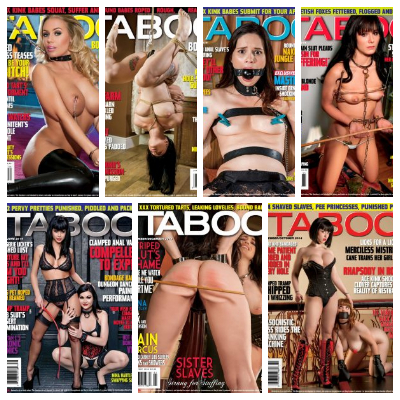 Hustler's Taboo - 2014 Full Year Issues Collection