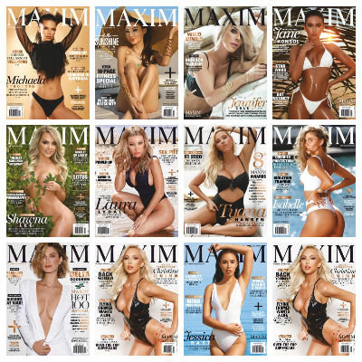 Maxim Australia - 2020 Full Year Issues Collection