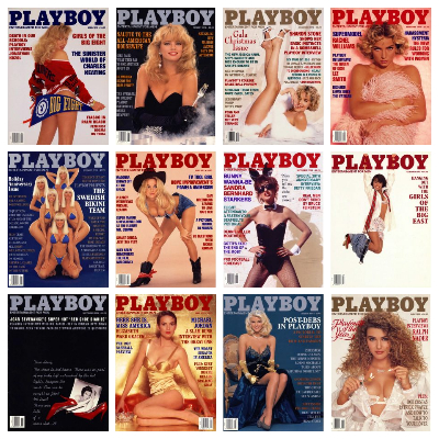 Playboy USA – 1992 Full Year Issues Collection