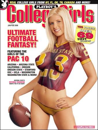 Playboy's College Girls - January February 2006